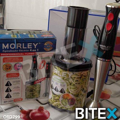 Minipimer + Espiralizador electrico Morley