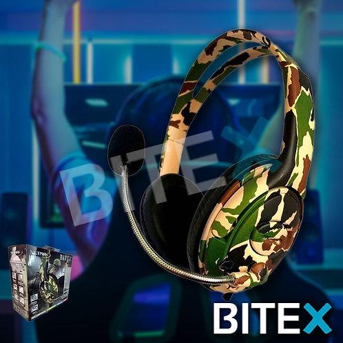 Auriculares Gamer Headset Ps4 Camuflado Battle Netmak