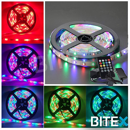 Tira led RGB 2835 Audioritmica