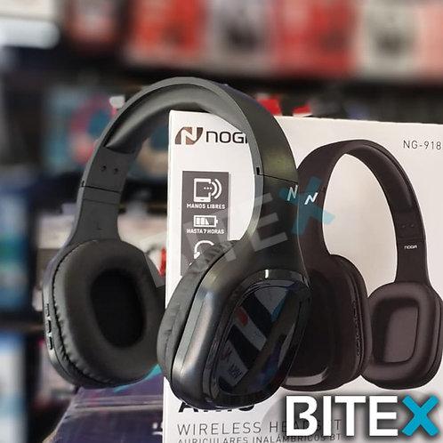 Auriculares Bluetooth Noganet NG-918BT