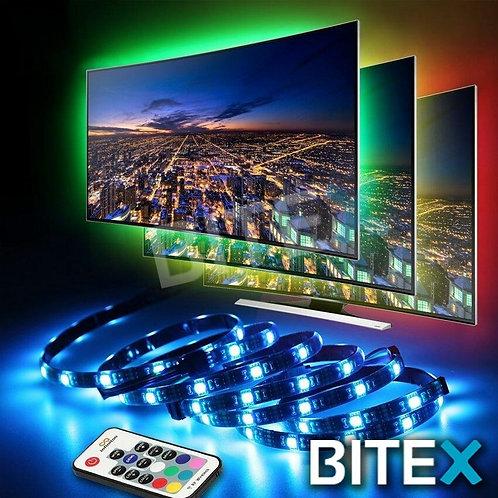 TIRA LED RGB 2MTS. USB