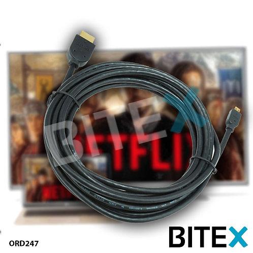 Cable HDMI Reforzado 3 Mtrs