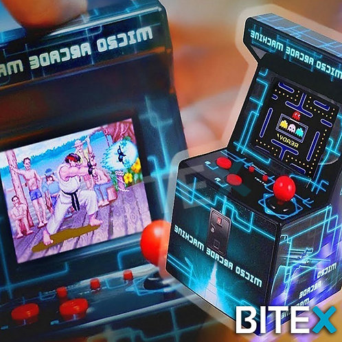 Mini Consola Retro Fichin Plus Arcade