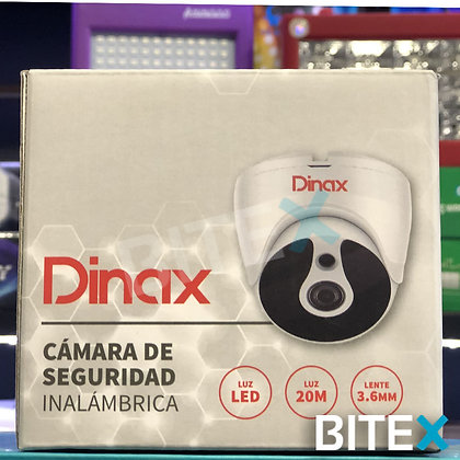 Cámara de seguridad Dinax