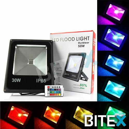 Reflector Led RGB 30w
