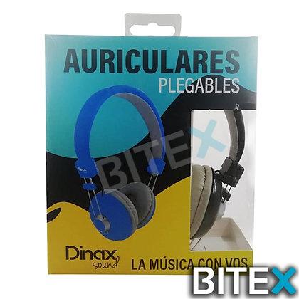 Auricular Dinax Plegables