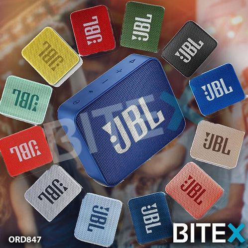 Parlante JBL Go 2 portátil con bluetooth