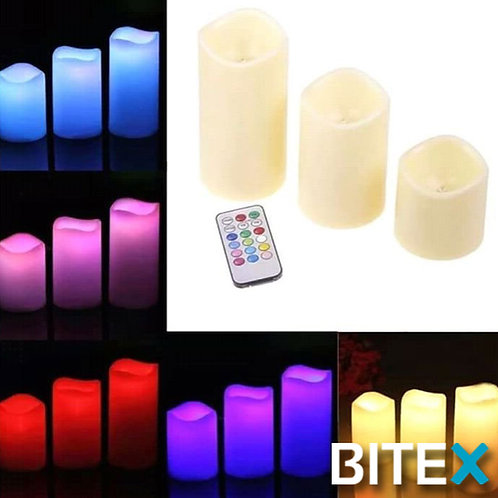 KIT VELAS RGB