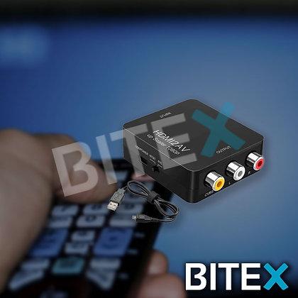 Convertidor Conversor Adaptador Rca + Sonido A Hdmi