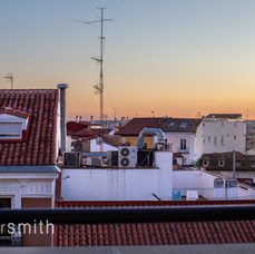subtle shifts watching the sun set on the other side of the world (triptych 2/3), Madrid, 2019