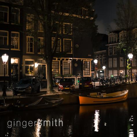 red twilight, Amsterdam, 2017