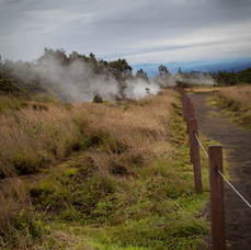 steam vents, Kilauea, 2018