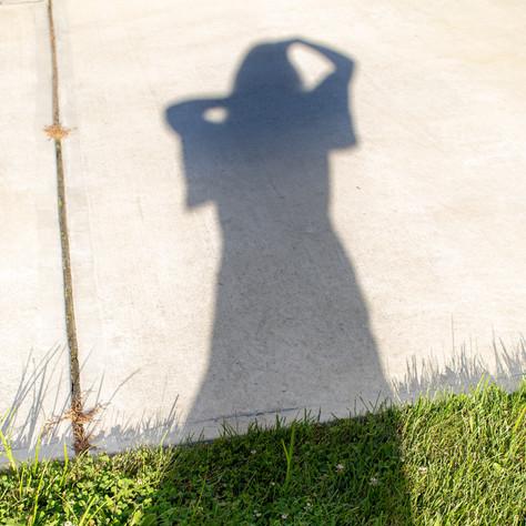 shadow grass, Hopewell, 2018