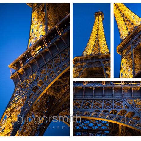 Eiffel collage, 2018