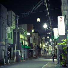 night green, Kyoto, 2018