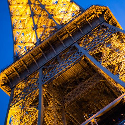 dusk and tower 2, Paris, 2017