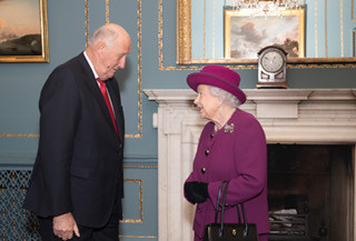 H.M. Queen Elizabeth and H.M. King Harald V