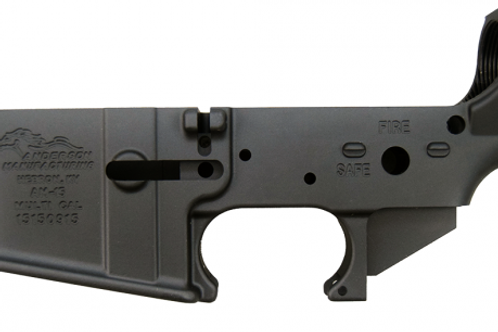 Anderson Manufacturing Stripped Lower Receiver