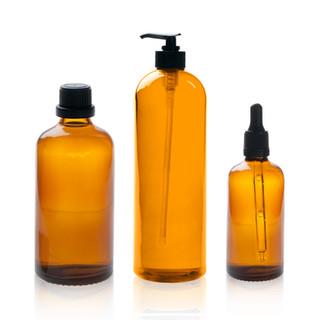 cosméticos Botellas