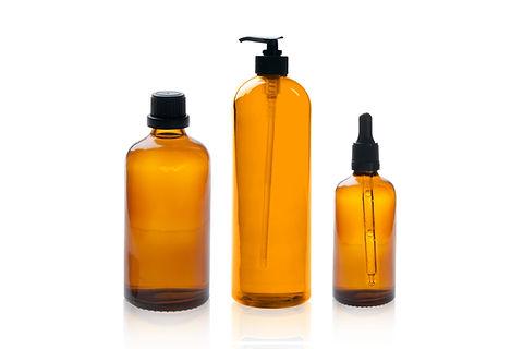 kosmetika flaskor