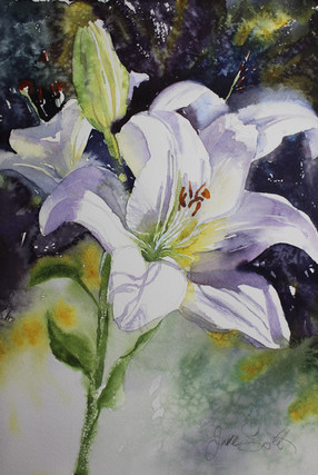 Fragrant Lilly- 28 x 38 cms