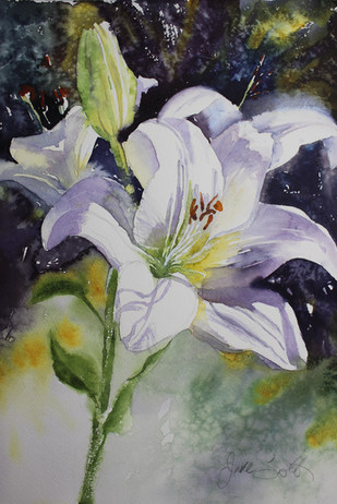Fragrant Lilly- 28 x 38 cms