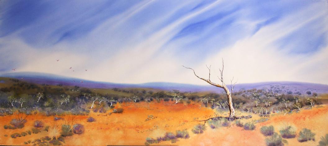 I Love a Sunburnt Country-157 x 75 cms