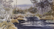 Tranquil Waters-28 x 38 cms-watercolour-