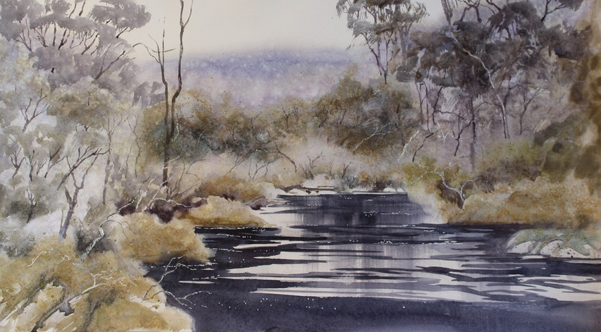 Tranquil Waters-28 x 38 cms