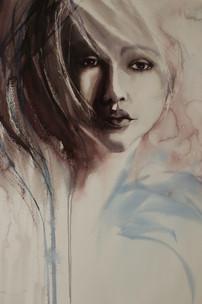 Contemplation- 76 x 56 cm