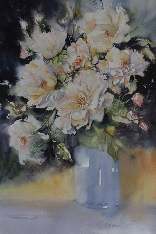 Whiter Shade of Pale-38 x 56 cms