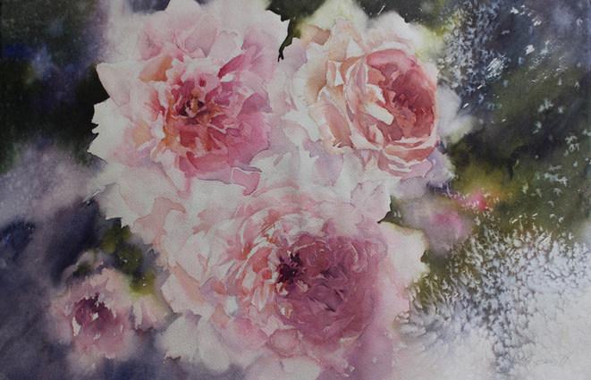 Summer Fragrance-38 x 56 cms