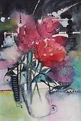 Purple Haze-38 x 56 cms-watercolour-jude