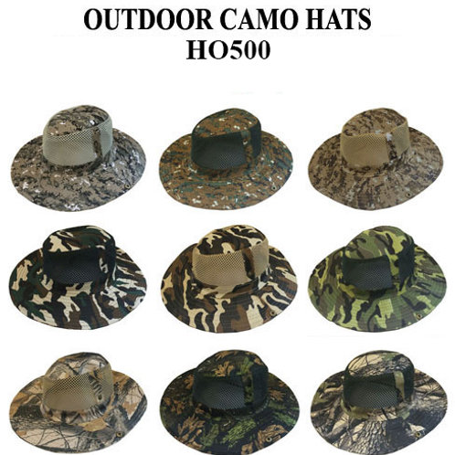 96 Outdoor Printed Fashion Hats