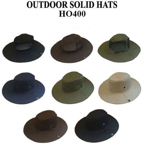 96 Outdoor Solid Fashion Hats