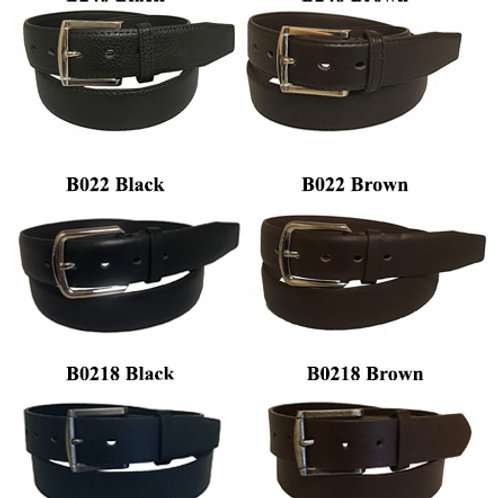 144 Men's Leather Belts