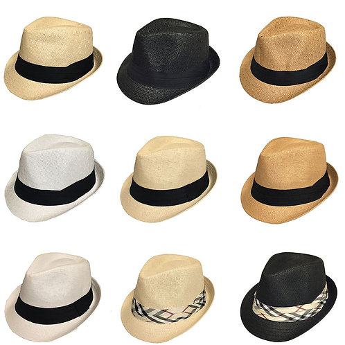144 Fedora Hats