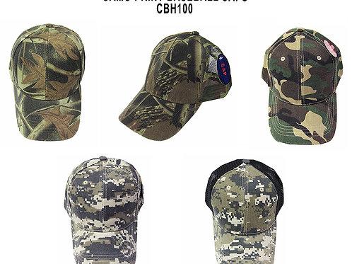 144 Camo Baseball Hats