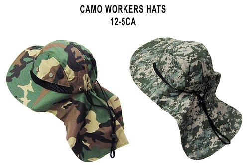 96 Printed Workers Hats