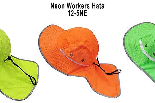 96 Neon Workers Hats