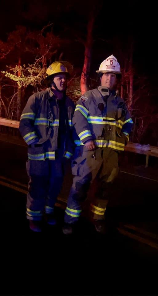 Breck Spaulding - Proud BFD Firefighter & Matt Maloney Proud Tyrone Firefighter