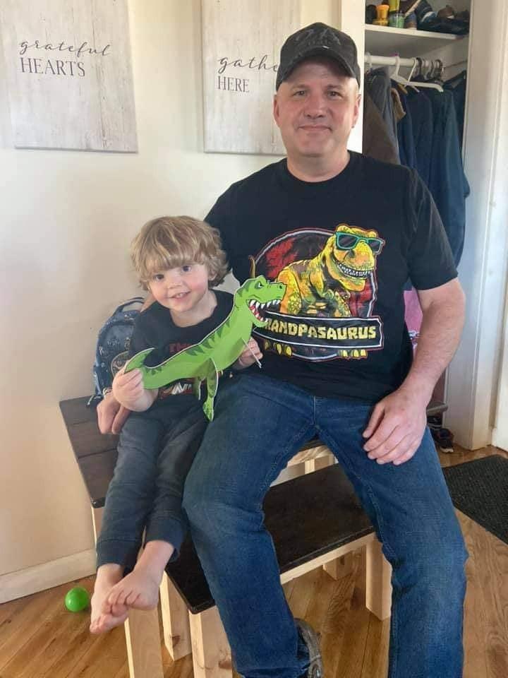 Breck & his Grandson