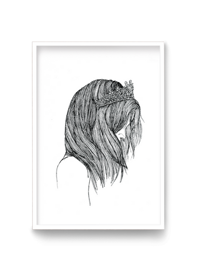 Girl with a crown