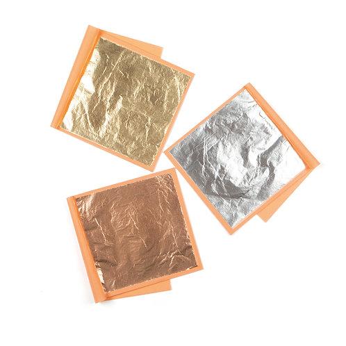 Blattmetall gold/silber/kupfer