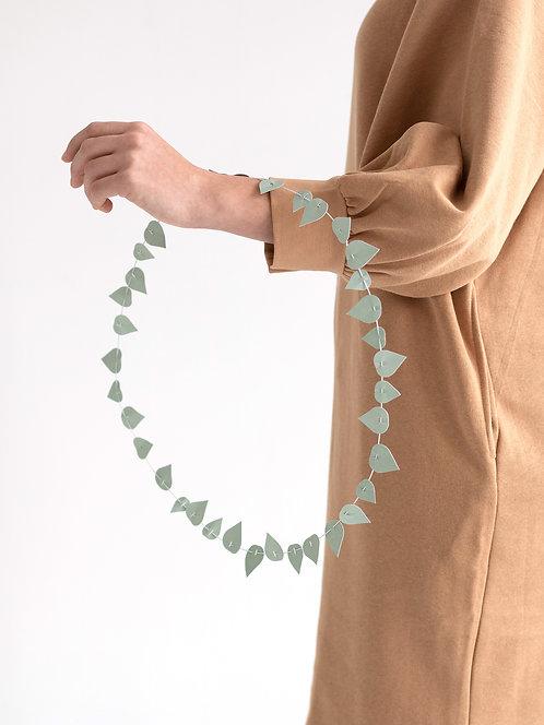Blättergirlande mint