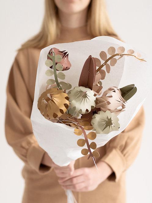 DIY Blumenbouquet groß