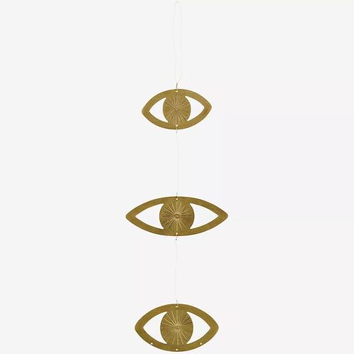 goldene Augen