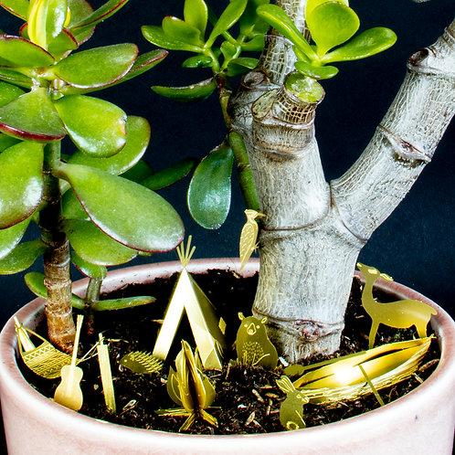 Tiny Camping für Pflanzen