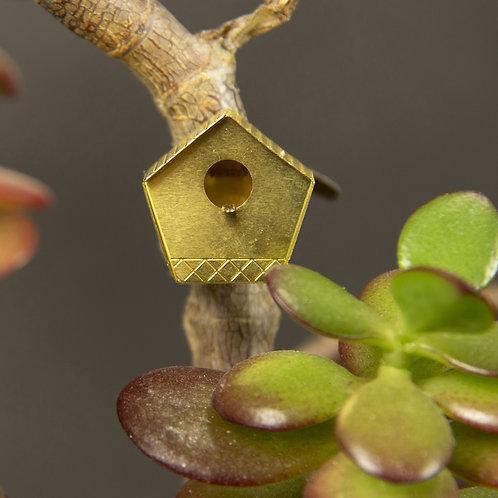 kleines Vogelhäuschen für Pflanzen