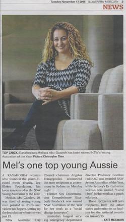 Mercury - NSW YAOTY Mel
